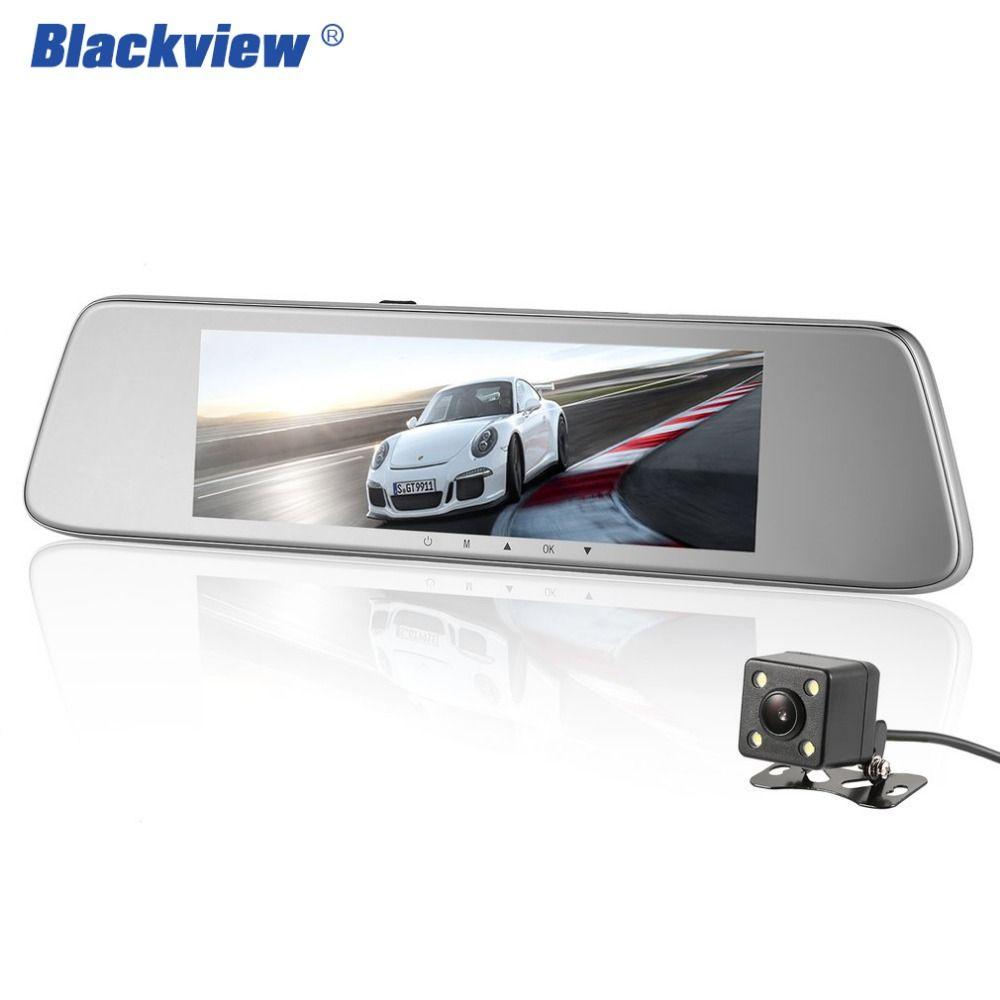 Blackview hs820c автомобиля регистраторы 8 дюймов Экран заднего вида Камера Автомобильный видеорегистратор зеркало Двойной объектив Ночное виден...