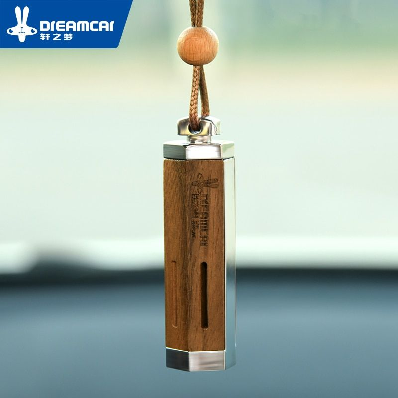 Wood Newest Luxury Hanging Car Perfume Bottle Ornaments Is_suitable With Oil Car Perfume Bottle Hanging Interior Accessories