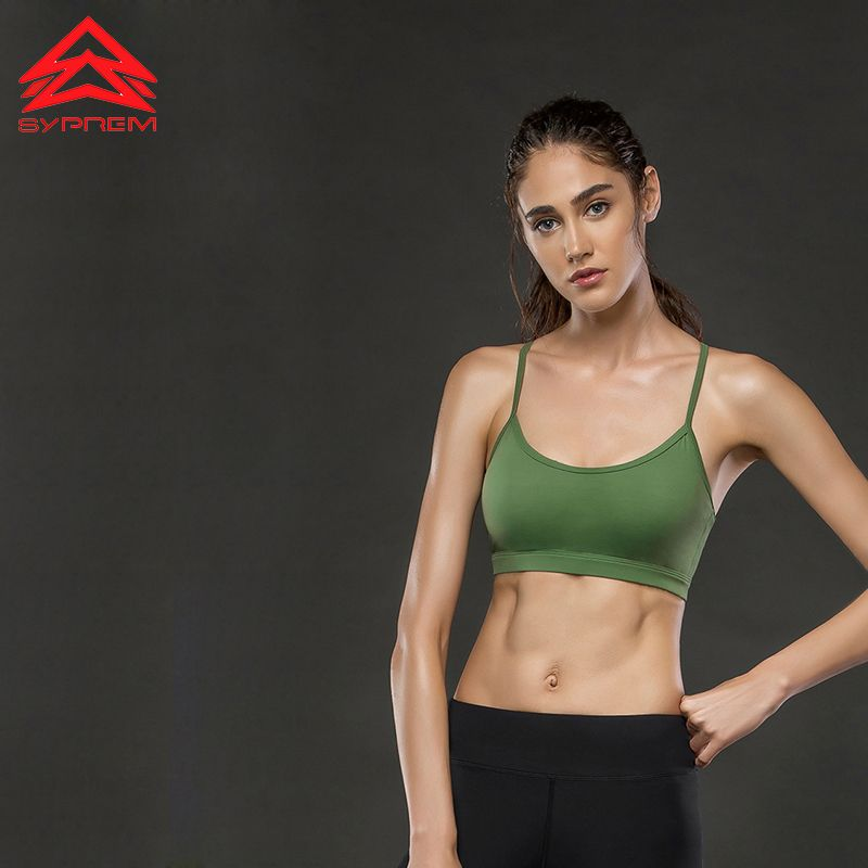 Syprem Lulu Y-strap Sportbekleidung Unterwäsche Frauen Sport-Bh Mädchen Fitness Top Yoga Büstenhalter Gym Crop Tops Feminino Wissenschaft, TW7500