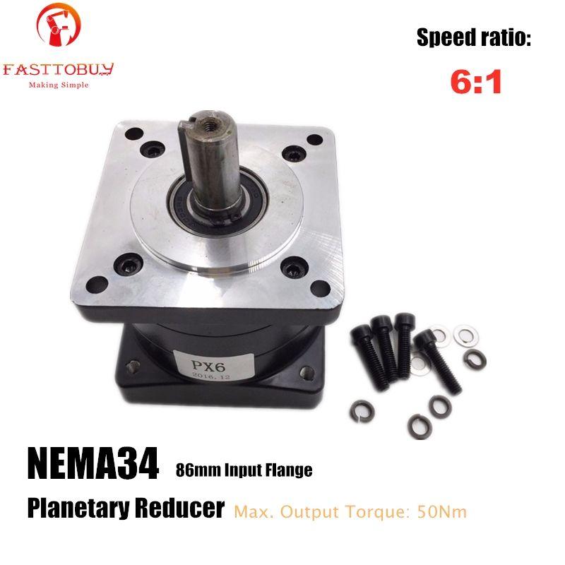 6:1 verhältnis Kleine Planeten Minderer China Getriebe Minderer NEMA34 Schrittmotor Minderer Geschwindigkeit Minderer