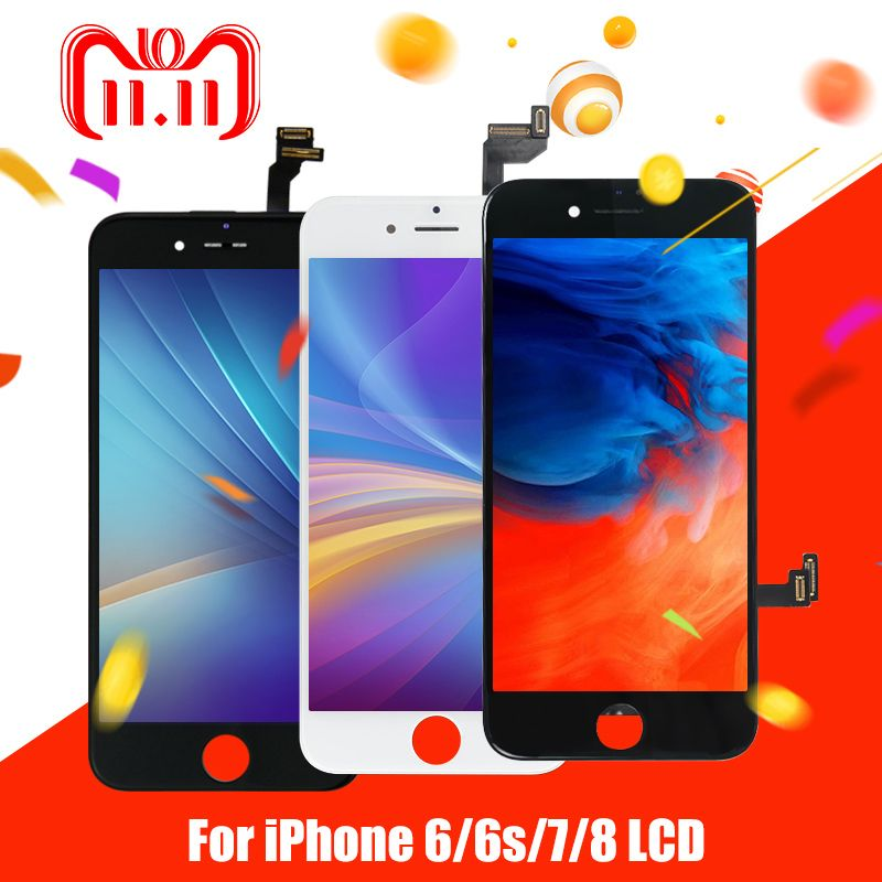 1PCS LCD Display for iphone 6 6g 6s 7 7g Display AAA Screen Replalcement Touch Screen Digitizer Assembly Free Shipping