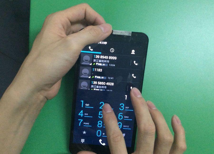 Handy Getestet Wisecoco 6,44 LCD für UMI C1 Display + Touchscreen Digitizer Voll LCD Mit Rahmen