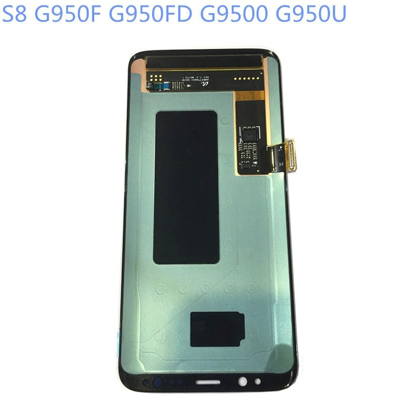 New Super AMOLED LCD S8 G950F G950FD G9500 G950U Display 100% Tested Working Touch Screen Assembly For Samsung Galaxy s8 lcd