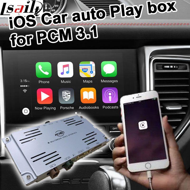 Car auto play box for Porsche PCM 3.1 Cayenne Macan Pana mera 911 etc for carplay on Porsche
