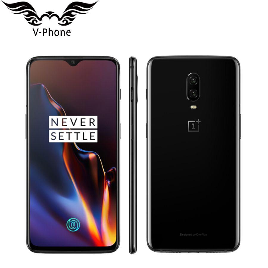 Globale Firmware Oneplus 6 t Handy 6,41 8 gb RAM 128 ROM Snapdragon 845 Octa Core Bildschirm Entsperren NFC Fingerprint Smartphone