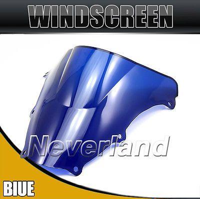 Hot sale Motorcycle Windshield WindScreen For Suzuki SV650 SV650S 03-12 SV1000 SV1000S 03-08 Blue Free shipping C20