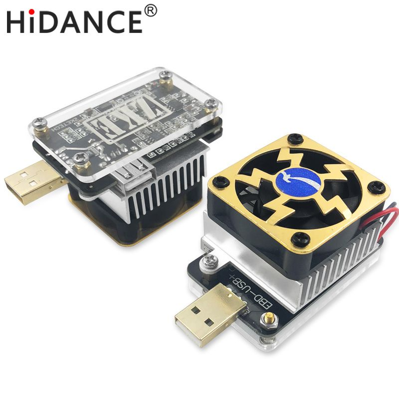 Ordinateur logiciel en ligne USB testeur DC Charge de décharge résistance QC2.0/3.0 MTK-PE Trigger Tension Courant Moniteur Batterie Capacité