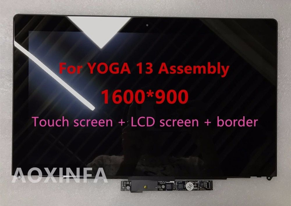 free shipping Original New LCD Assembly For Lenovo IdeaPad Yoga 13 LP133WD2(SL)(B1) LP133WD2 SLB1 With Bezel,1600*900