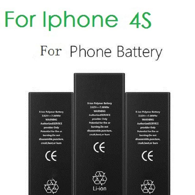 100% Original Brand ANTIRR Phone Battery For iphone 4S Real Capacity 1430mAh With Machine Tools Kit Mobile Batteries