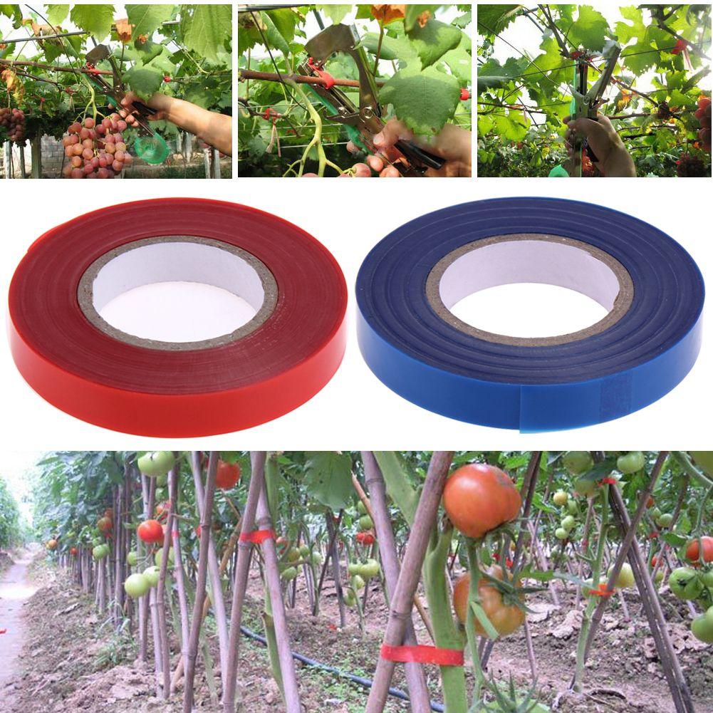 20pcs/set Tapetool Branch Tape Flower Vegetable Fruit Tree Gardening Tape Tapenter Grape Branch Fixed Tape for Tying Machine