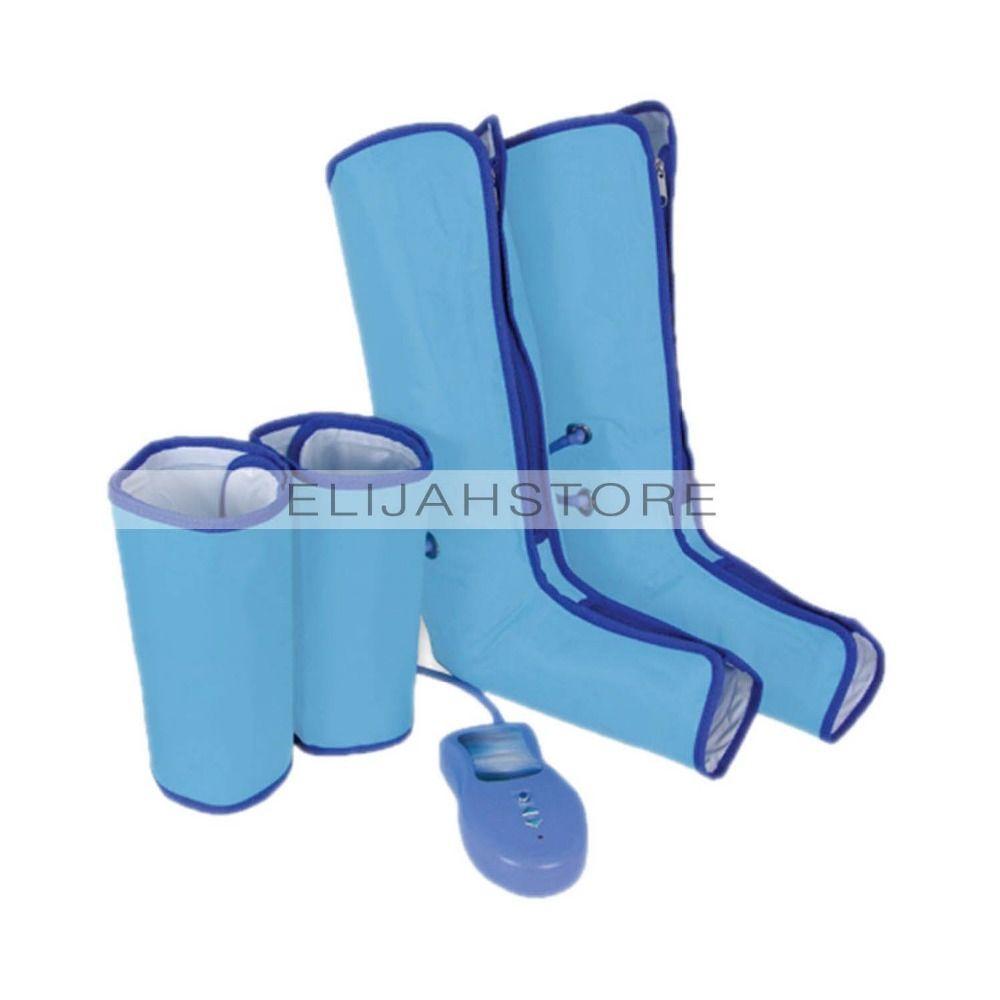 Новые ботильоны массаж для похудения Ноги массажер для ног сжатия воздуха ногу Обёрточная бумага загрузки Носки для девочек Отопление саун...