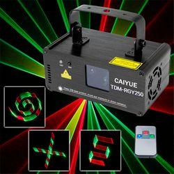 3d تأثيرات dmx512 rgy أحمر أخضر أصفر ضوء dj ديسكو حزب الليزر الماسح الضوئي الكامل الميلاد المهنية مرحلة الإضاءة المعرض