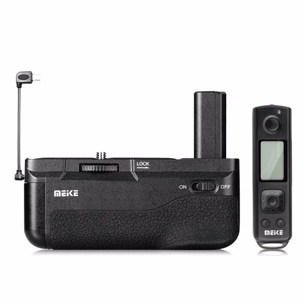 Meike The New MK-A6500 pro Battery Grip Built-in 2.4GHZ Remote Controller Vertical-shooting Function for Sony a6500 camera