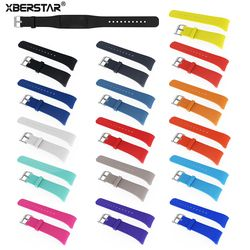 Silicone Wrist Watch Strap Watchband For Samsung Gear Fit2 fit 2 SM-R360 GPS Sports Smart Bands Fitness Watch Activity Tracker