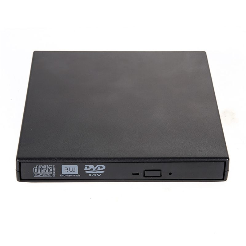Portable External CD RW DVD RW DVDRW Slim 8x DL USB DVD Writer External DVD Burner <font><b>Drive</b></font> for PC Desktop Laptop