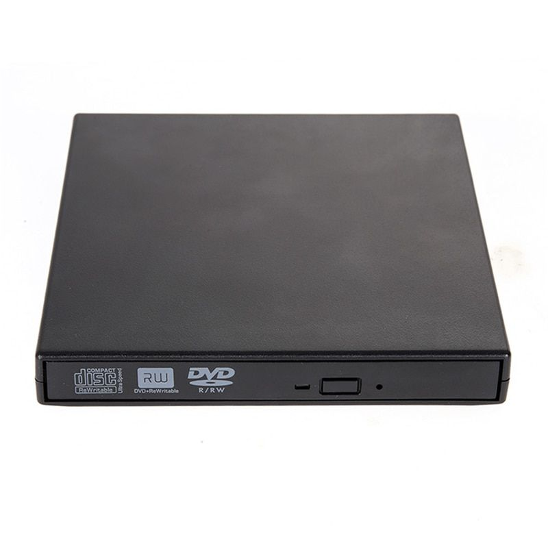 Portable External CD RW DVD RW DVDRW Slim 8x DL USB DVD Writer External DVD Burner Drive for PC Desktop <font><b>Laptop</b></font>