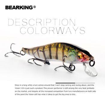 Bearking 11 см 14 г Супер вес системы Длинные литья новая модель рыболовные приманки жесткий 2018 качество воблеры гольян