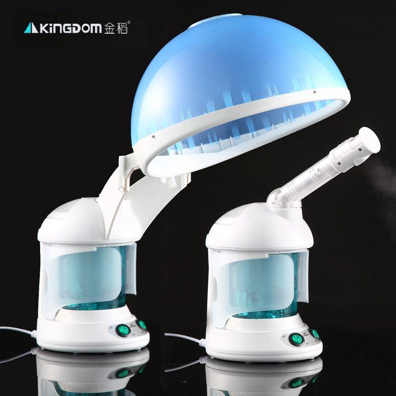 2 in 1 sauna vaporizer Salon hair steamer and Facial steamer ozone Aroma herbal Mist salon facial steam device
