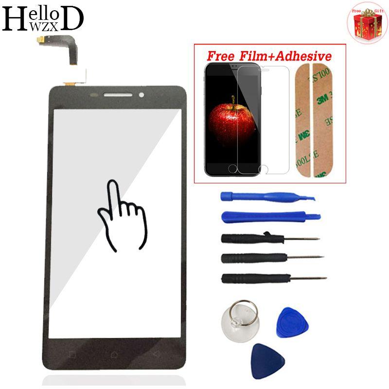 Pour Lenovo Vibe P1M P1ma40 P1mc50 Écran Tactile En Verre Digitizer Panneau Avant En Verre Capteur Outils Adhésif + Protecteur D'écran Cadeau