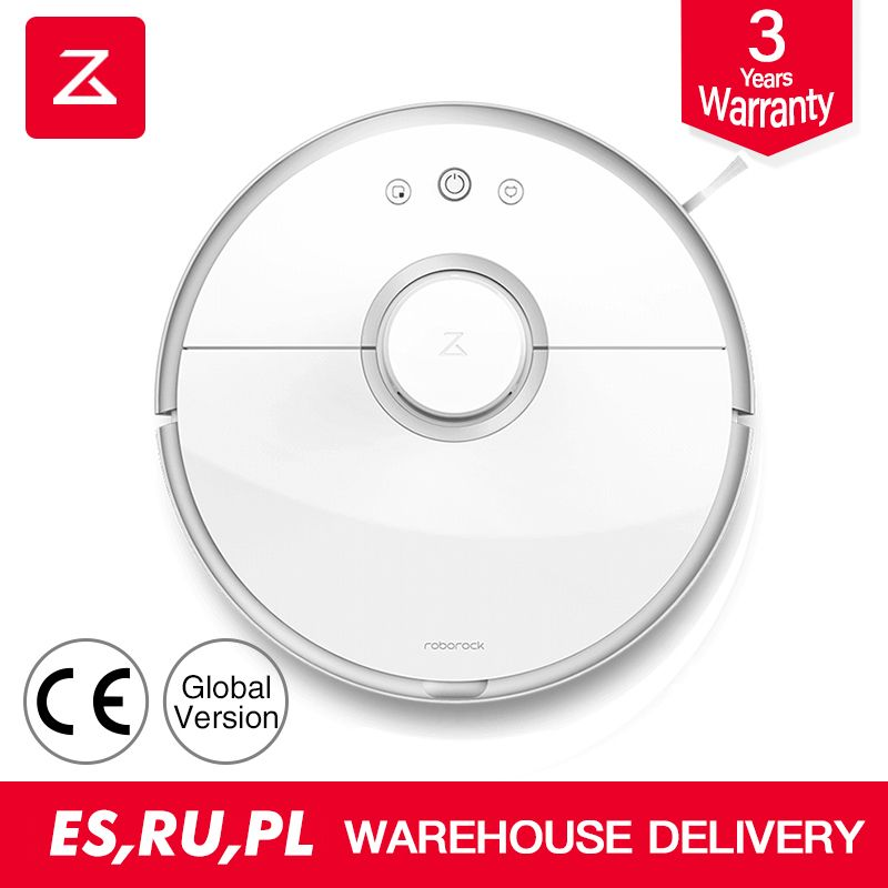 roborock s50 robot vacuum cleaner 2 global ce smart planned route APP control Wireless/cordless for Home sweep and mop cleaner