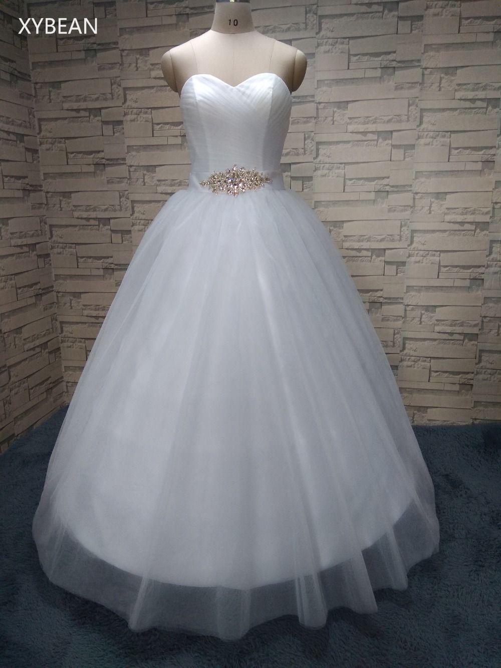 2018 New Arrival Bridal White/Ivory Wedding Dress bridal Gown Custom Size 4 6 8 10 12 14 16 18