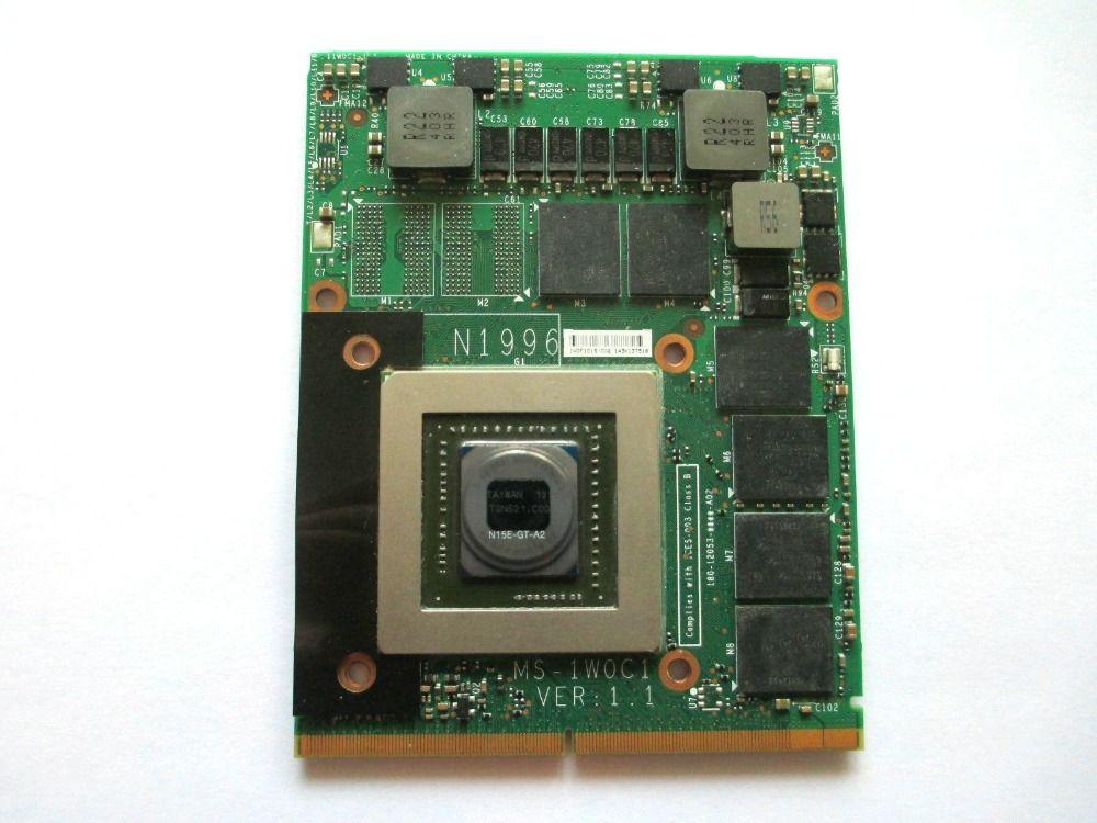 GTX 870 м GTX870M MS-1W0C1 3 г DDR5 Видеокарта VGA для 16F3 16F4 1762 1763 GT70 GT60 GX660R GT660 GX680 GT683DX GX780 GT783DX