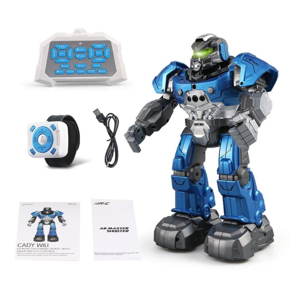 JJR/C JJRC R5 CADY WILI RC Robot Intelligent Programing Education RC Robot Auto Follow Gesture Control Kids Toys for children