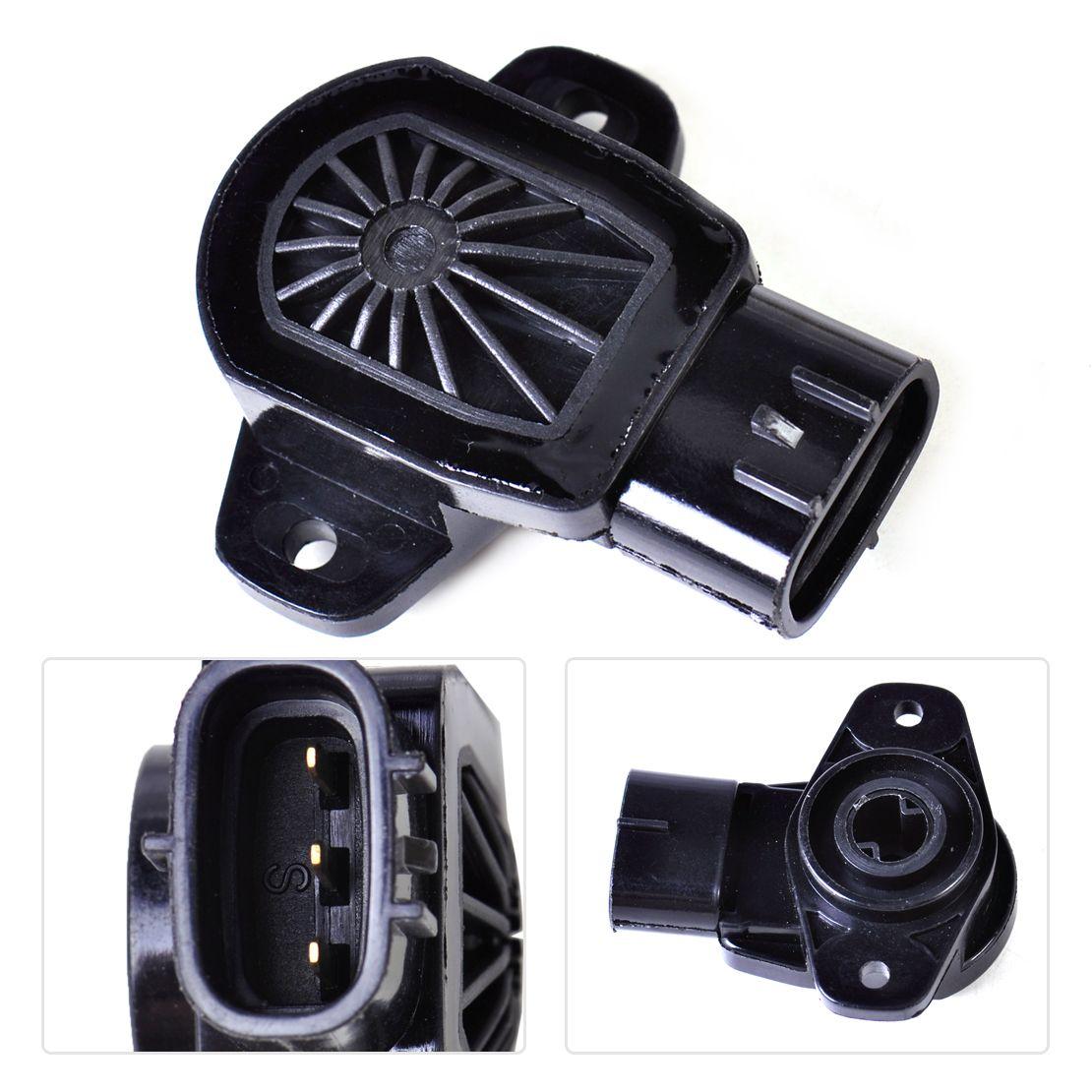 beler New 1Pc Black TPS Throttle Position Sensor TH296 91175256 1342065D00 5S5075 Fit For Suzuki XL-7 Vitara Chevrolet Tracker