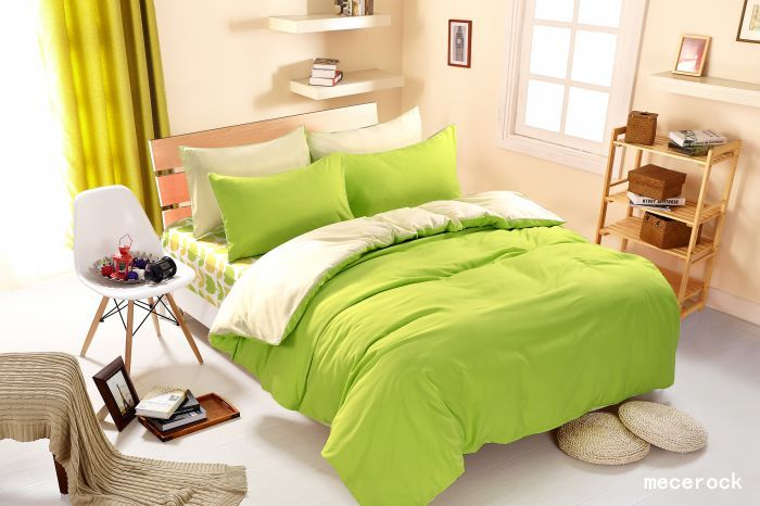 <font><b>1pcs</b></font> Cotton Blend Duvet Cover Solid Color Comforter Cover Duble Side Can Be Used Twin Full Queen King Size