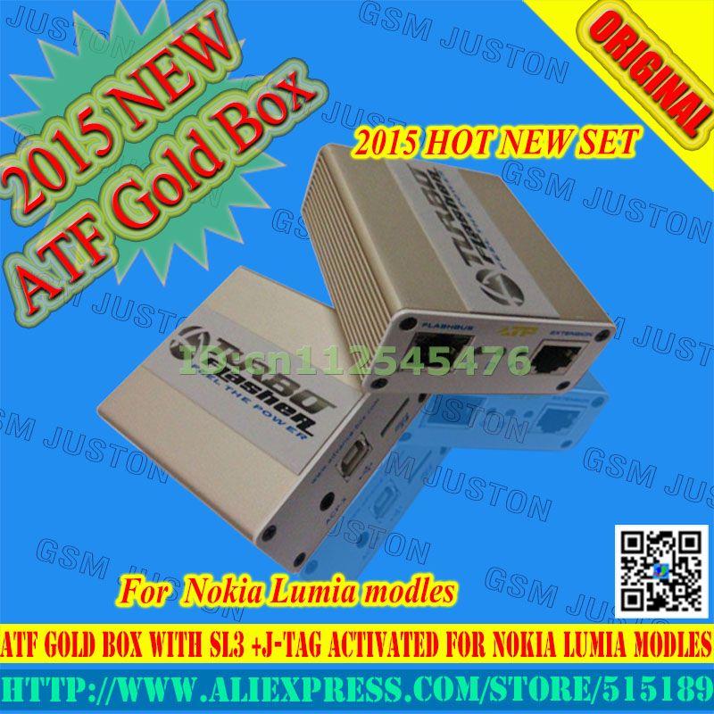 2017 date 100% D'origine Avance Tubro Boîte boîte atf atf or boîte atf édition limitée boîte avec activation SL1 SL2 SL3 JTAG MEM
