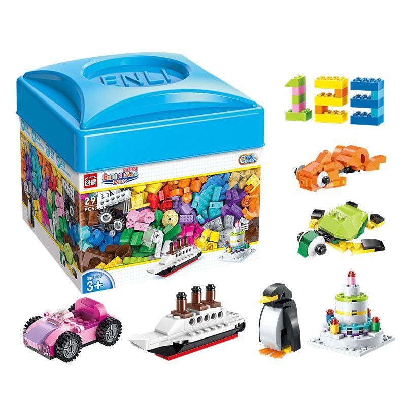 460pcs Enlighten Bulk DIY Creative Building Blocks Bricks Educational Toys Children Gift Christmas Compatible with Legoings