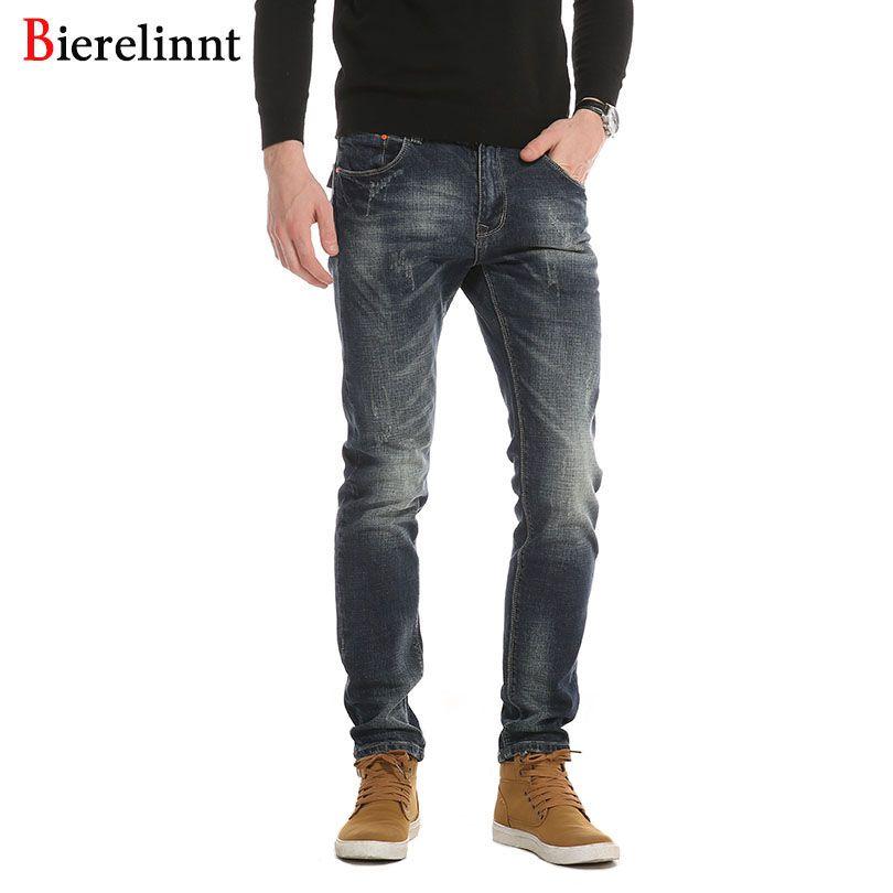 Bonne Qualité Vente Chaude Nouvelle Arrivée Denim Long Pantalon Hommes Jeans, Automne et Hiver 2018 Mode Casual Coton Jeans hommes, 6363