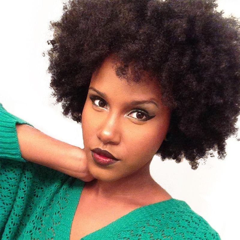 Afro Crépus Bouclés Clip Dans Les Cheveux Humains Extensions 4B 4C Humains brésiliens Naturel Cheveux Clip Ins Rosa Reine Remy Plein tête