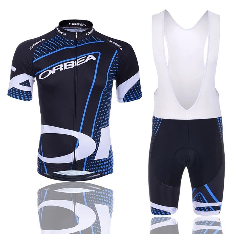 2018 NEW! ORBEA Cycling Jersey Short Jersey Ropa De Ciclismo Maillot Cycling Clothes Set Bike Wear Gel Pad Breathable