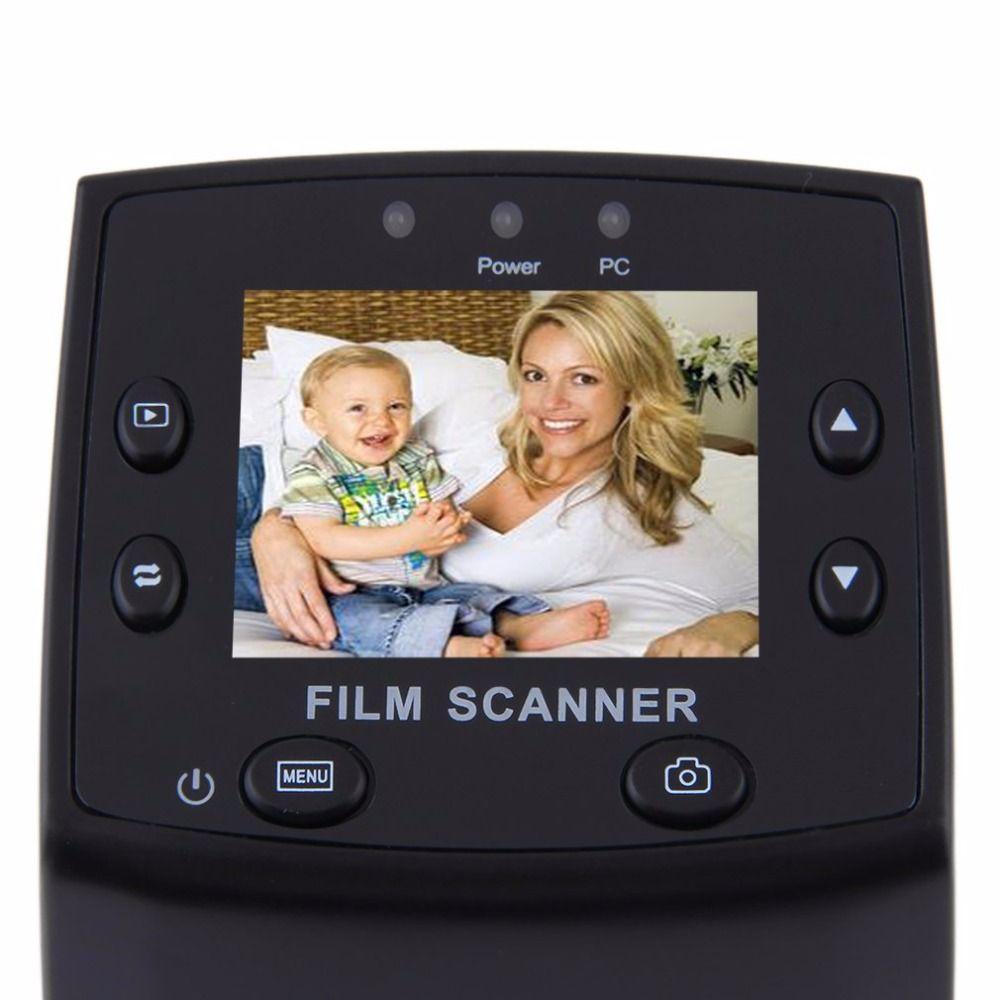 New 5MP 35mm Negative Film Slide VIEWER Scanner USB Color Photo Copier Wholesale