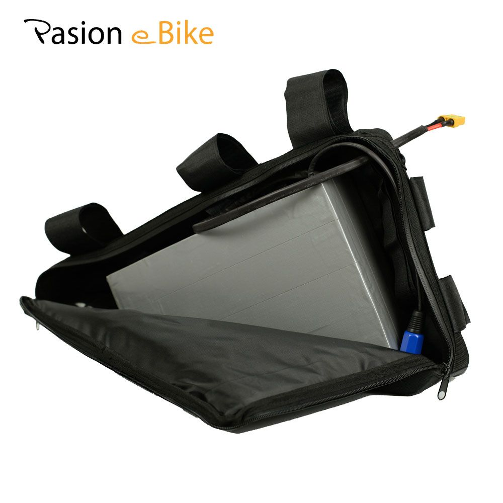 PASION E BIKE 52V 20.3ah Battery For Electric Bicycle Lithium 52V Triangle Battery Samsung Cell E Bike Battery With 5A Charger
