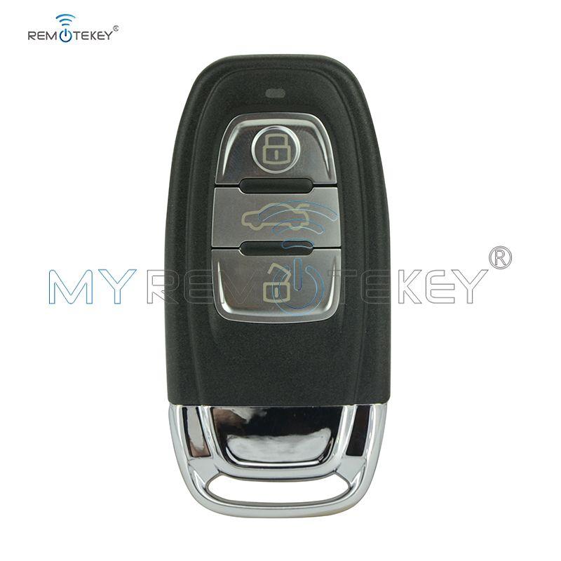 868 Mhz smart télécommande voiture clé 8T0959754C 3 bouton pour Audi A4 A5 S5 A6 Q5 inclure clé insert remtekey