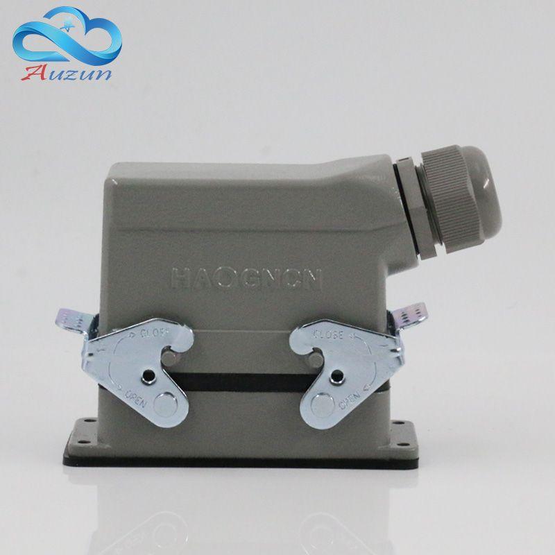 Прямоугольный H16B-он-016-1 тяжелые 16 контактный разъем линия 16 a500v винт ноги авиации plug на стороне