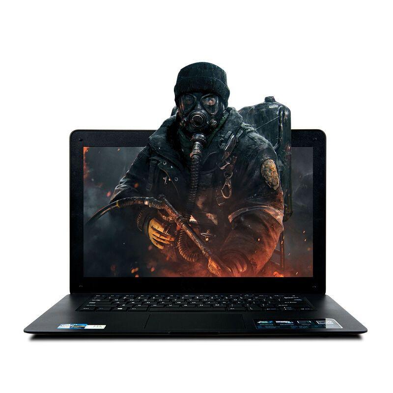 8 gb ram 120 gb ssd ultra-mince quad core rapide de course windows10 russe clavier multi-langue pc portable netbook ordinateur