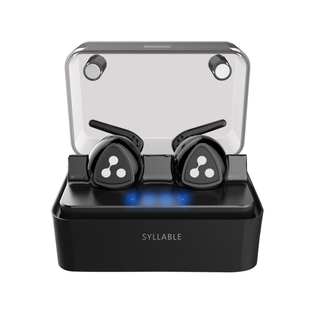 SYLLABLE D900MINI Bluetooth V4.1 Headset Fone de Ouvido Bluetooth Earphone Strong Bass for Iphone 7&7 Plus/Xiaomi/Samsung