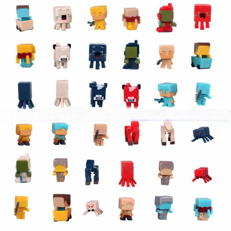 36pcs/lot Minecraft Game Brinquedo Toys Avengers Super Hero Justice League Building Blocks Toys Action Toy Figures Gift #E
