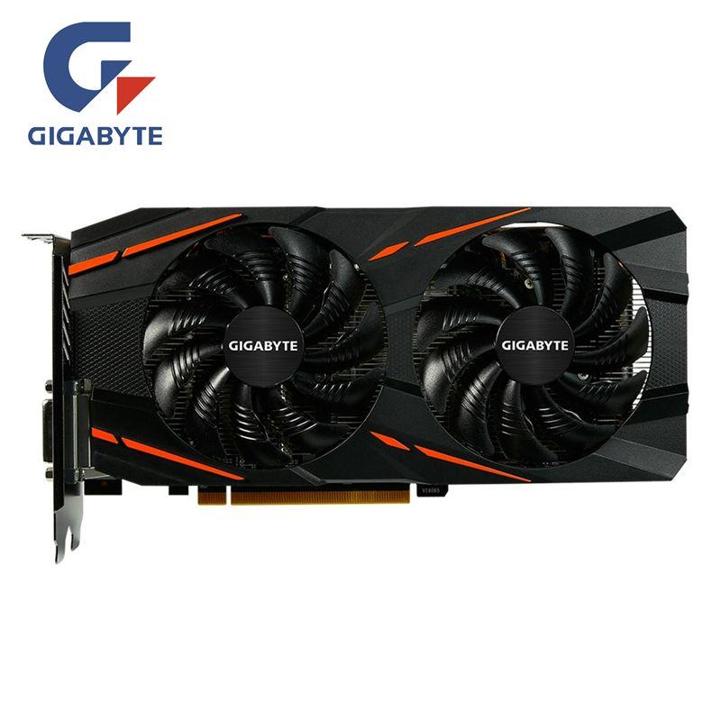 GIGABYTE RX 580 8 GB carte vidéo de jeu GPU RX580 8G cartes graphiques jeu d'ordinateur pour cartes vidéo AMD carte HDMI PCI-E