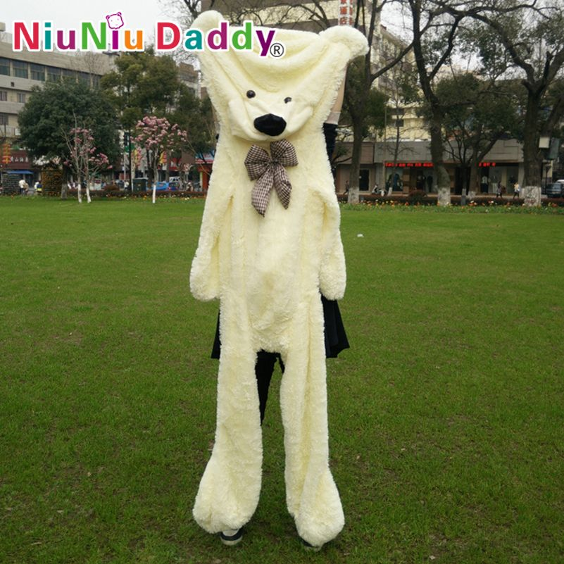 Niuniu Daddy200cm/79 inch,Big Plush toys,Semi-finished bear, Plush Bear Skin,plush teddy bear skin,Free Shipping