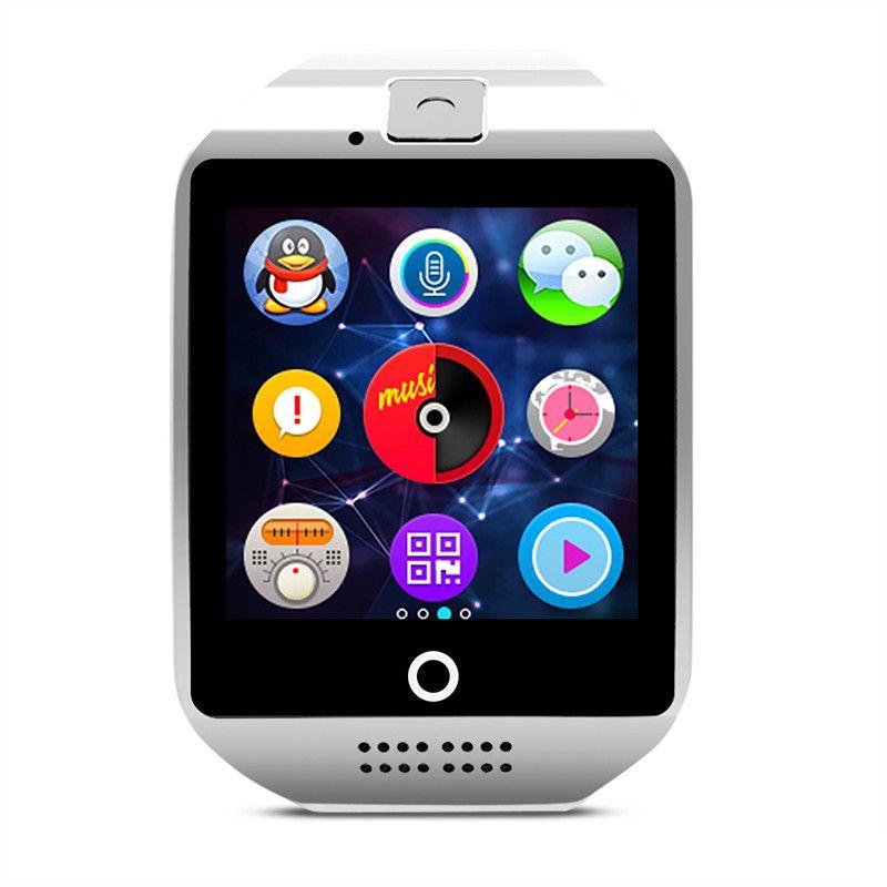 Montre intelligente Q18 carte SIM téléphone caméra Bluetooth écran tactile Smartwatch pour iOS Android porter montre pour hommes montre numérique