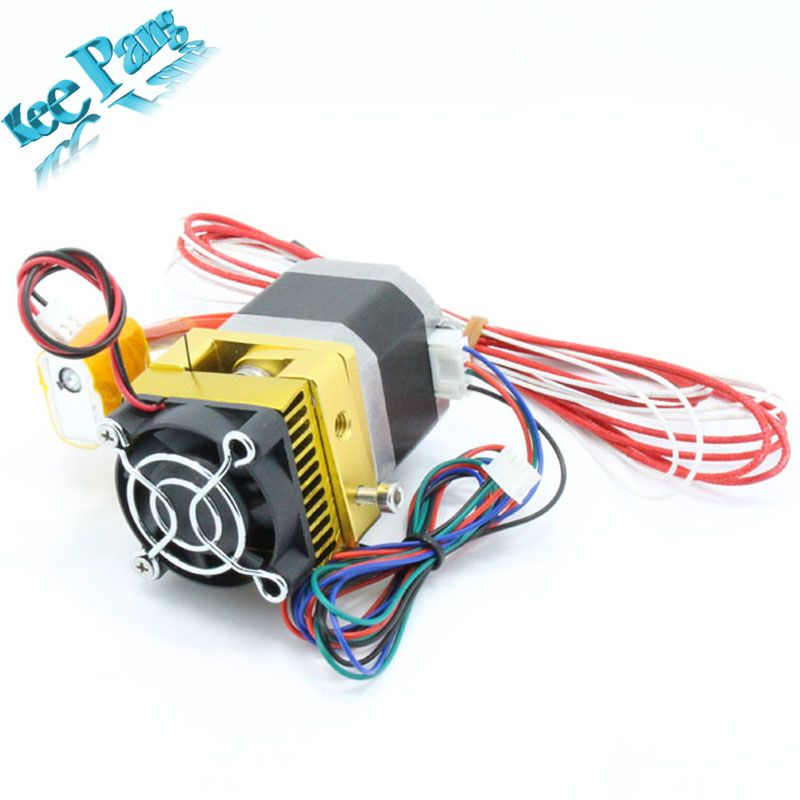 Upgrade MK8 Extruder Nozzle Latest Print Head for 3D Printer with Extra Throat Tube + Nozzle for free