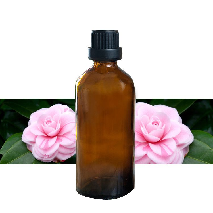 Huile de camélia 100% d'huile de base végétale pure huiles Essentielles soins de la peau huile De Camélia 100 ml Livraison gratuite J15
