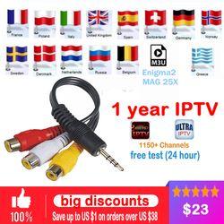 IPTV abonnement 1/3/6/12 Mois pour Android TV Box smart tv mag dispositif + Italie belgique Allemagne ROYAUME-UNI EX-YU Espagne IPTV 3000 en direct