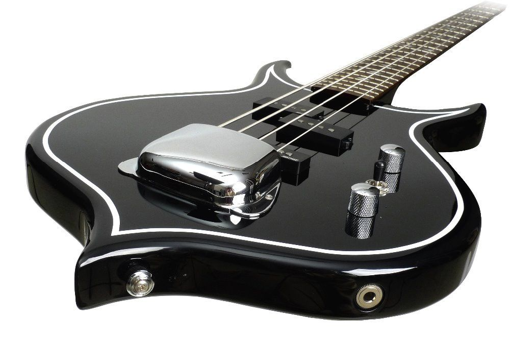 Gene Simmons Punisher Electric Bass Guitar Mahogany Body Maple Neck Rosewood Fingerboard