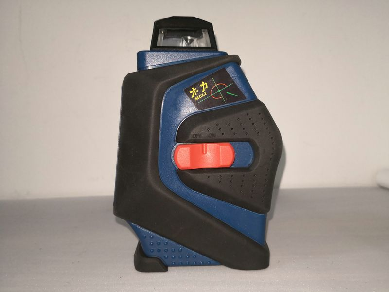 Laser Level Infrared 5 Line Automatic Horizontal Slant 360 Degree Horizontal and Vertical AA Battery Small and Portable