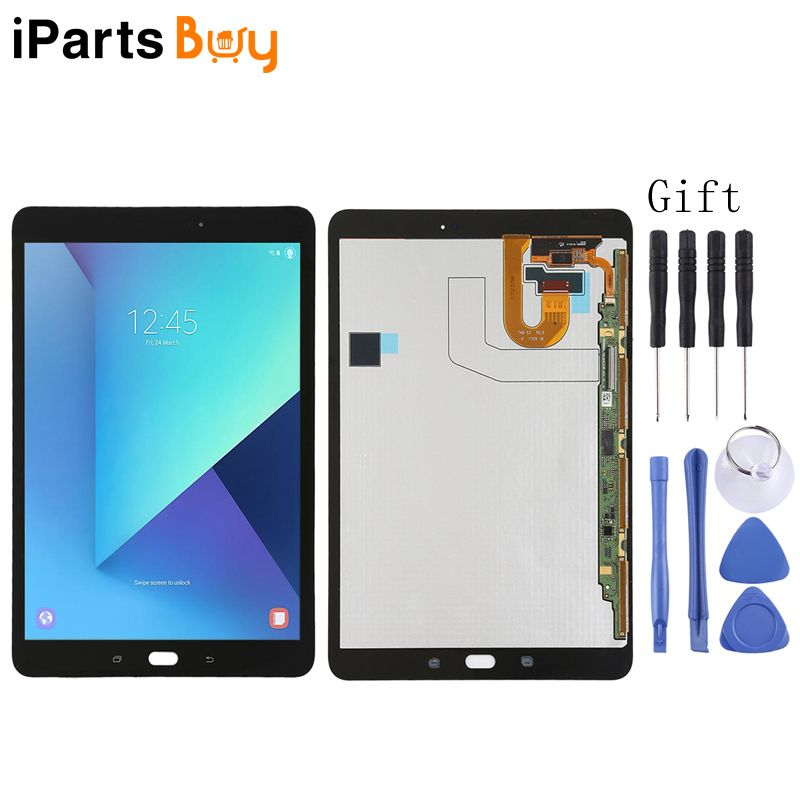 iPartsBuy A LCD Screen and Digitizer Full Assembly for Samsung Galaxy Tab S3 T820 / T825